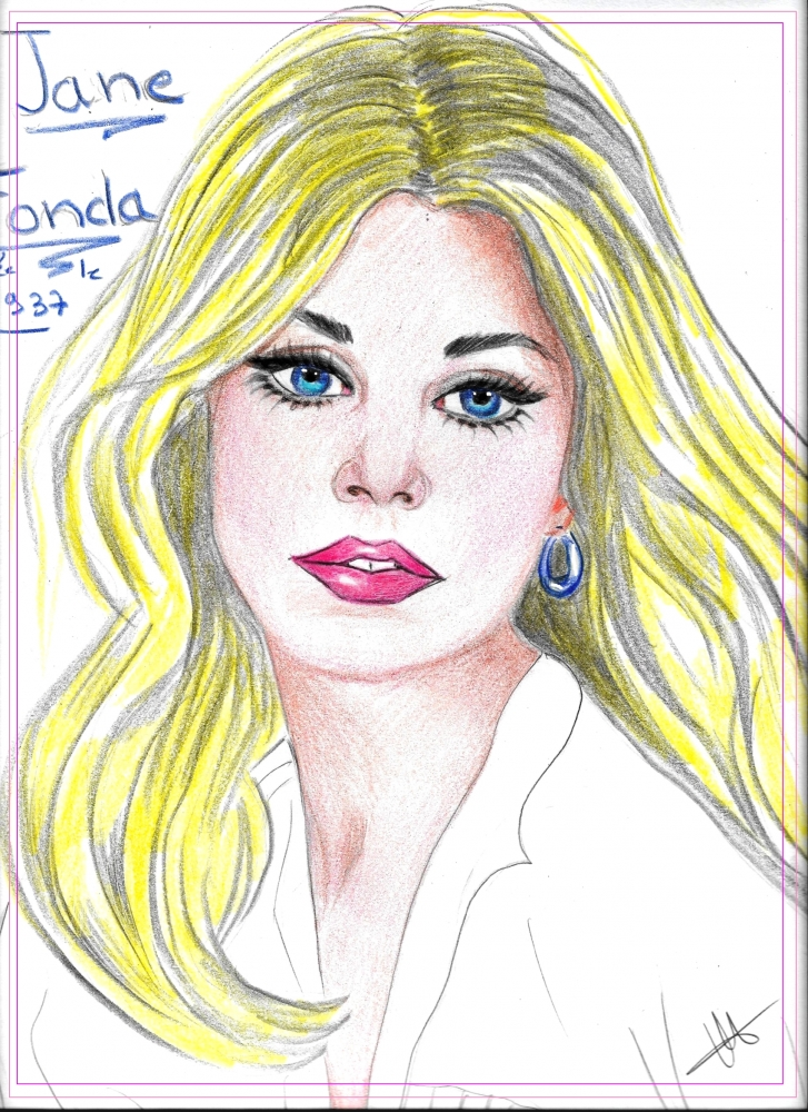 Jane Fonda by isabella1988